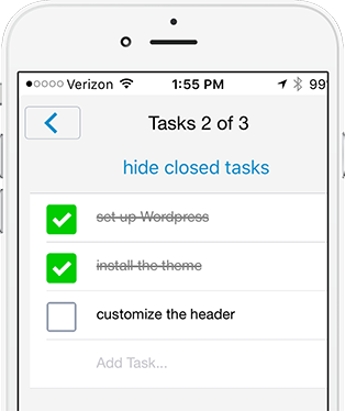 iOS tasks