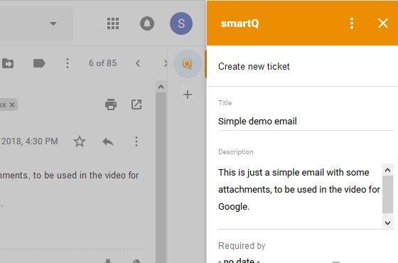 smartQ for Gmail